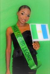 Miss Sierra Leone Representative at the 2018 MDQ MISS AFRICA DIASPORA USA PAGEANTS PART 1