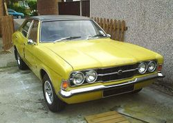 1970s Cortina saloon