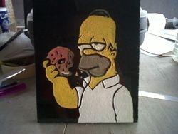 Homer Simpson Design