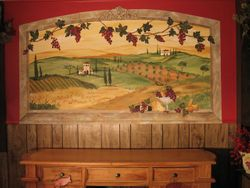 Tuscan Scene in Granby, MA