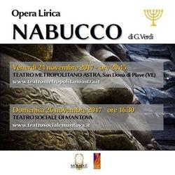 Nabucco - G. Verdi 2017