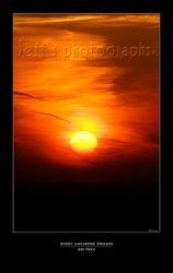 Sunset, Lancashire, England