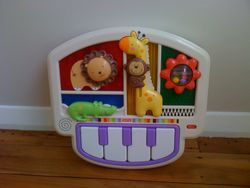 Animal piano for baby's