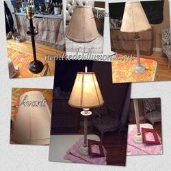 Lampe relooker (VENDU)