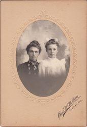 Laura Moore Adams and Mother, Vallejo, CA