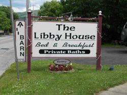 THE LIBBY HOUSE AND THE BARN