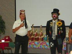 Randy Moore and dignitary