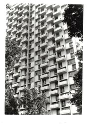 An apartment building in Washington Square, Phila