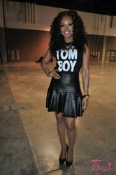 Demetria McKinney Attends V103's 'For Sisters Only' Event