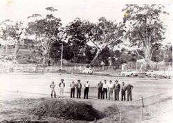 Bowling Club at Batemans Bay, Second Green, June 2 1951