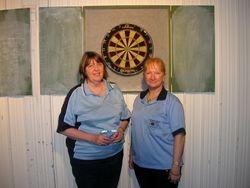 Ladies Doubles Winners Christine Haughey & Connie Spinks