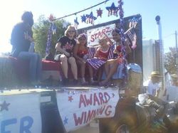 3rd Place Float on our first try!