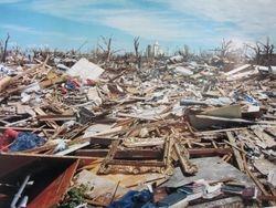 Devastation from the EF5 Tornado in 2007