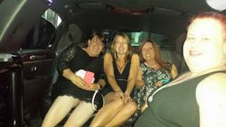 Limo ride with Jaci Burton, Shannon Stacey, and Anna J. Stewart!