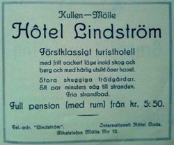 Hotell Lindstrom 1930