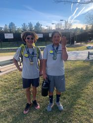 Joseph and Lucky 3rd place doubles