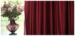 Faux Silk Sateen Drapes and Curtains -Rod Pocket 54WX 96L