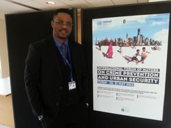 Mr Mogaji Bolaji at international forum of mayors on security and crime prevention in urban settings