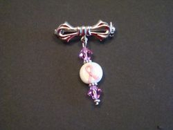 Breast Cancer Awarenss Pin (Item #4004)  $7.50