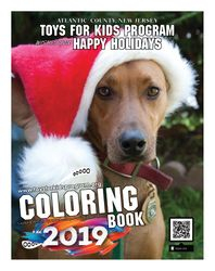 COLORING BOOK 2019 Toys For Kids Program