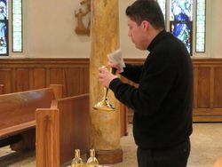 Demonstrating Purifying the Chalice