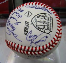 Colby Rasmus 2005 High School Champions Signed Team Ball