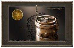 Balloon compass
