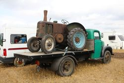 Field Marshall on Fordson Thames lorry