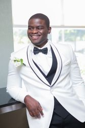 White Waverly Tuxedo