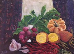 Still Life with Yellow Beets