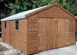 Apex Timber Garage (18' x 12')