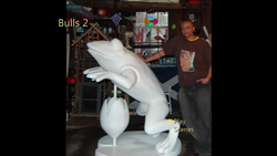 Bulls Frog blank