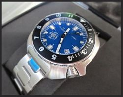 CUSTOM-MADE TII-TYPHOON 300m SE PACIFIC BLUE
