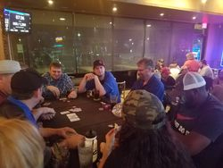 Intense table at Last Chance
