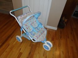 American Girl Bitty Baby Double Doll Stroller- Retired - $40