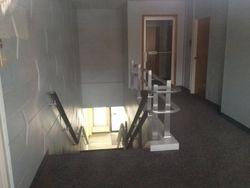 Pastor's Office Door & Bathrooms