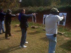 "Shooting at ""The Range"""