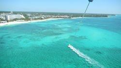 Parasailing over Bahamas, 2010