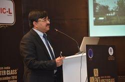 Mr Abir Bhattacharyya at the ENT Masterclass, Mumbai