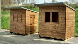 Pent Shed (8' x 6') O/R