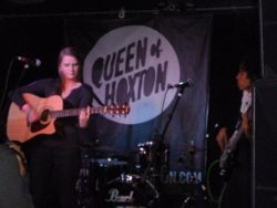 Great show at the Queen of Hoxton