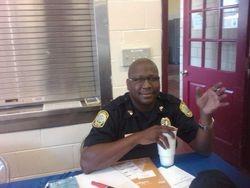 Columbia Police Dept's Sergeant Ron Felder