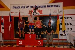 Rhiannon Digweed - 1st place at Canada Cup 2014