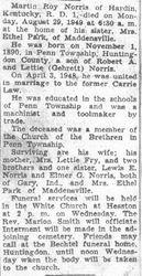 Norris, Martin R. 1949