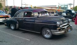 48. 50 chevy style line