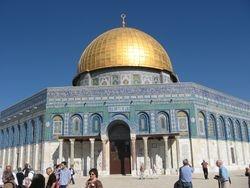 Doma de la Roca, mezquita en el lugar santo