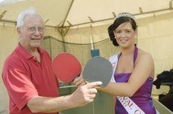 Carnival Queen meets League Secretary