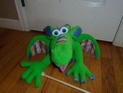 Melissa & Doug Smoulder the Dragon Puppet - $12