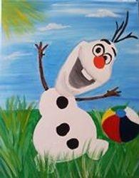 Beach Ball Olaf