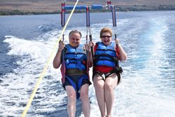 Parasailing in Maui